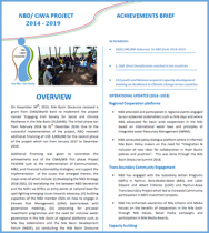 Project Achievements Brief: Engaging Civil Society for Social and Climate Resilience in the Nile Basin Project (P132448) - NBD/CIWA-WB (2014 - 2019)